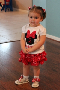 My little Minnie Mouse
