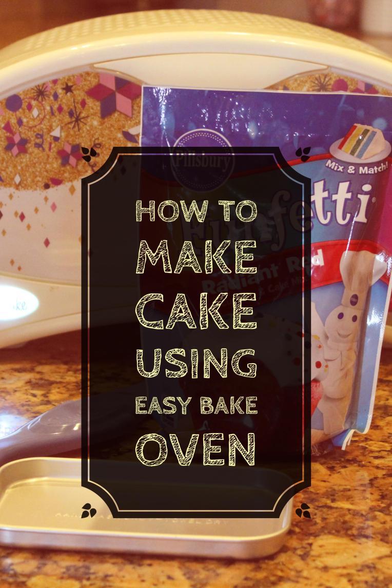 GiggleFish_Easy Bake Oven Cake
