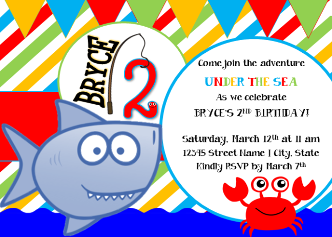GiggleFish_UndertheSea Invitation