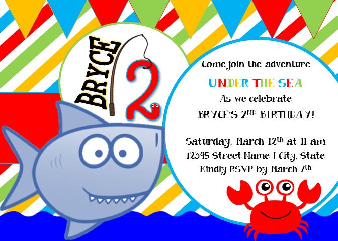 GiggleFish_UndertheSea Invitation
