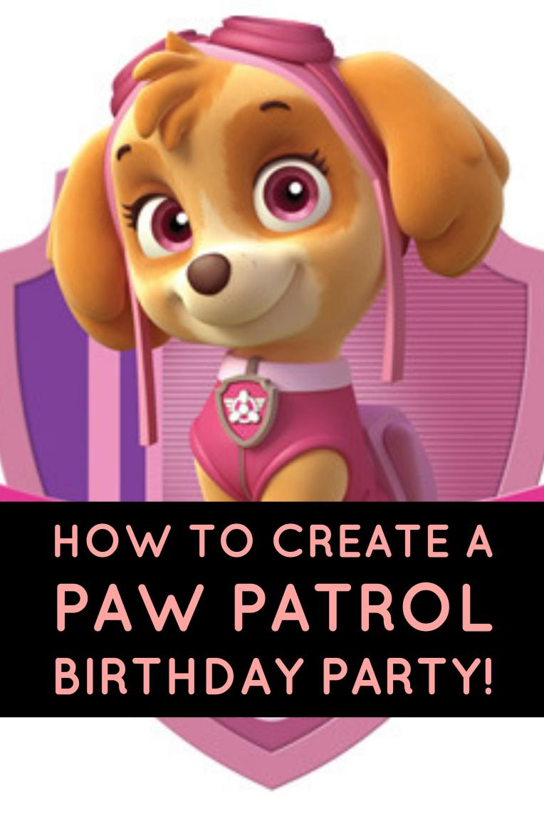 GiggleFish_how to create a paw patrol party