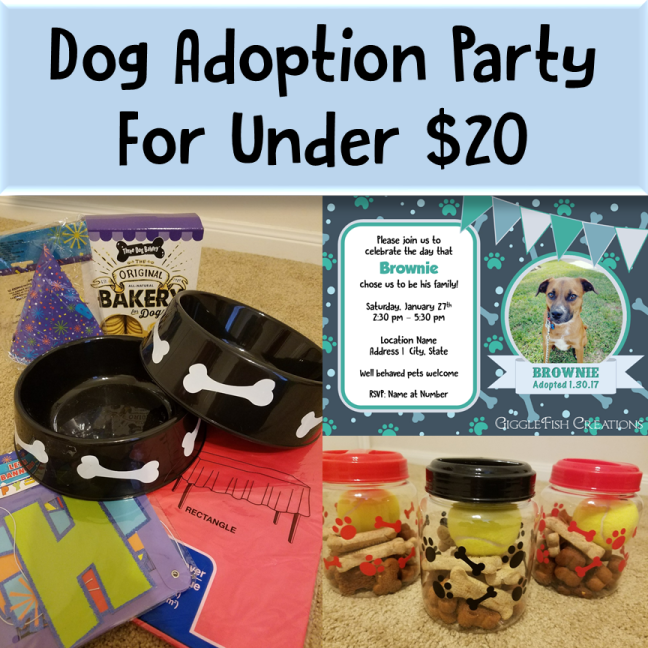 dog adoption post